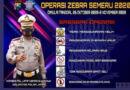 Operasi Zebra Semeru 2020 Siap Digelar