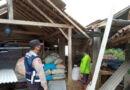 Puting Beliung Serang Dukuh Ngandel Cepoko Ngrayun, 3 Rumah Warga Rusak